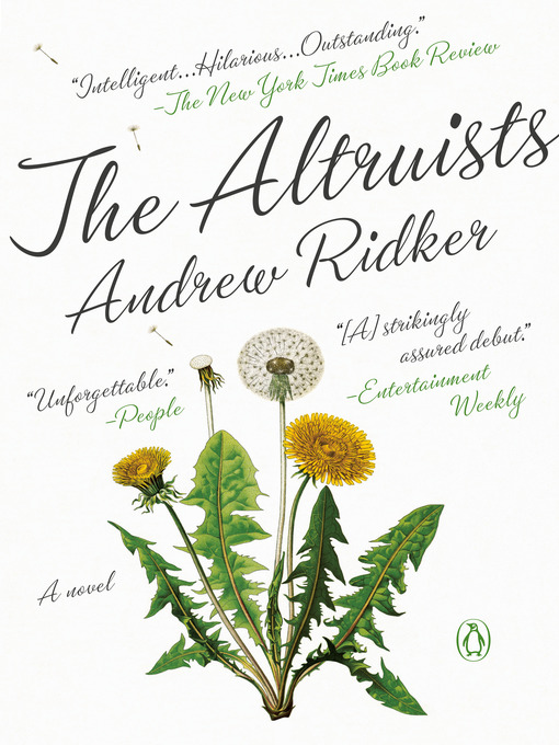 Title details for The Altruists by Andrew Ridker - Wait list