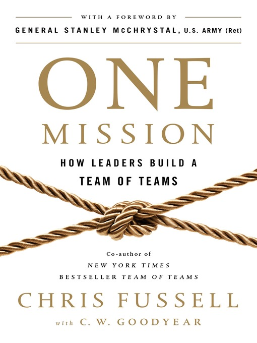 Title details for One Mission by Chris Fussell - Available