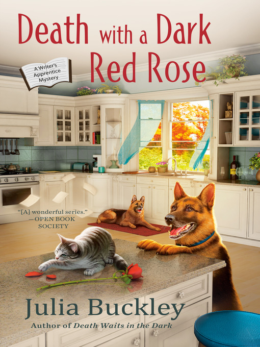 Title details for Death with a Dark Red Rose by Julia Buckley - Wait list