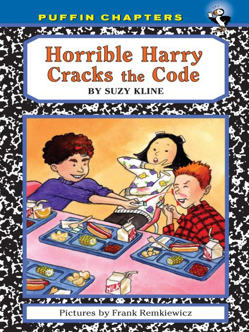 Cover image for Horrible Harry Cracks the Code