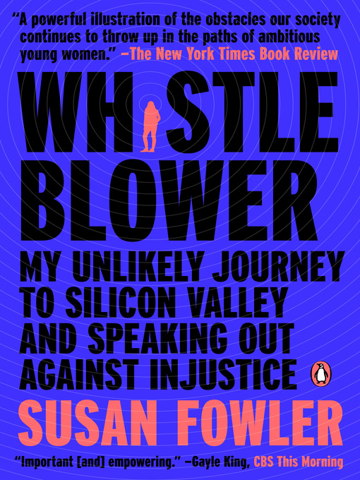 Title details for Whistleblower by Susan Fowler - Available