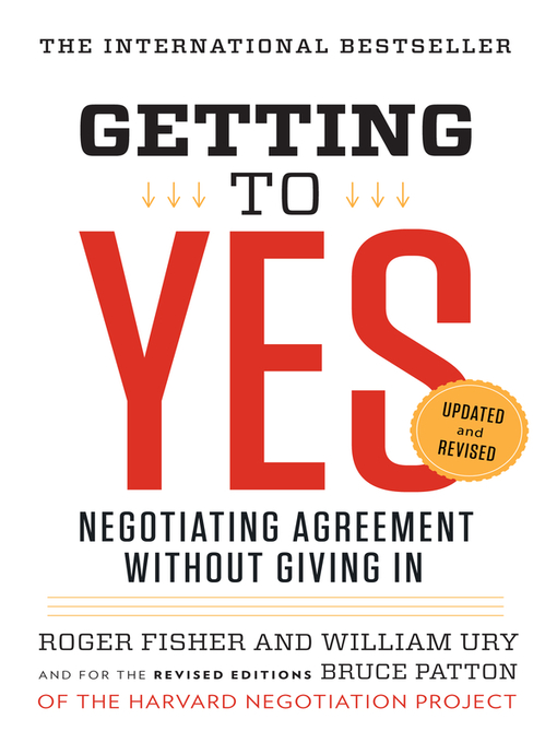 Title details for Getting to Yes by Roger Fisher - Available