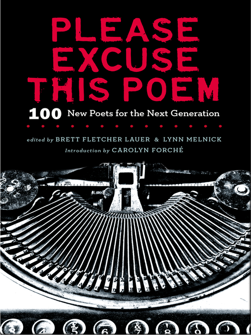 Title details for Please Excuse This Poem by Brett F Lauer - Available