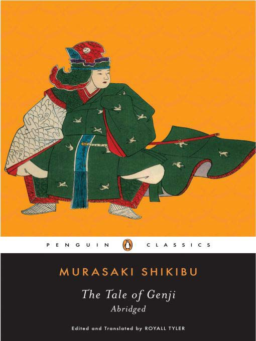 The Tale of Genji book cover