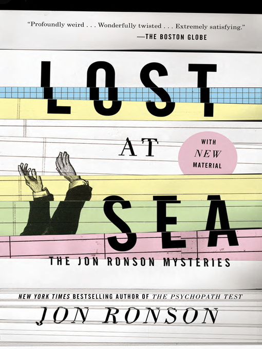 Title details for Lost at Sea by Jon Ronson - Available