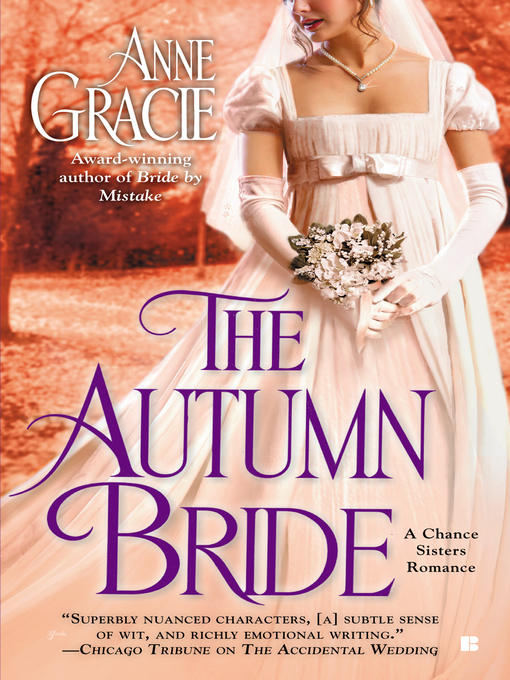 Title details for The Autumn Bride by Anne Gracie - Wait list