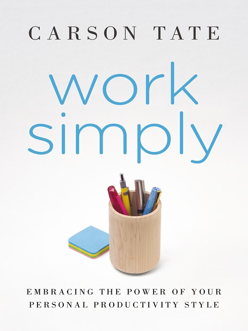 Title details for Work Simply by Carson Tate - Wait list