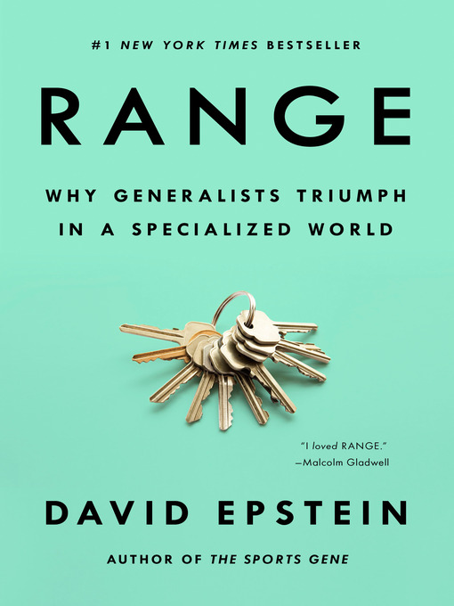 Title details for Range by David Epstein - Wait list