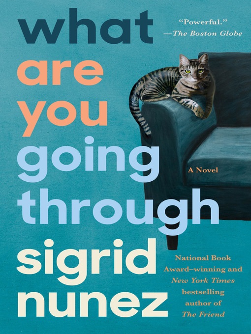 Title details for What Are You Going Through by Sigrid Nunez - Available
