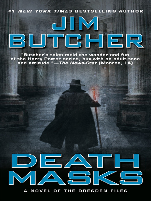 Title details for Death Masks by Jim Butcher - Available