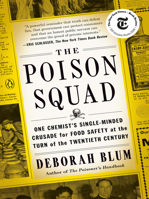 Title details for The Poison Squad by Deborah Blum - Wait list