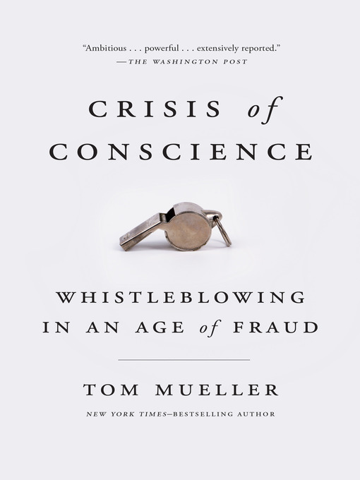 Title details for Crisis of Conscience by Tom Mueller - Wait list