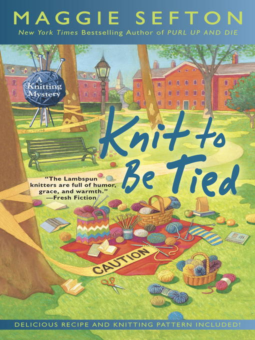 Title details for Knit to Be Tied by Maggie Sefton - Wait list