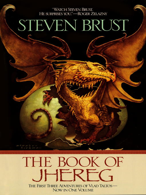 Title details for The Book of Jhereg by Steven Brust - Wait list