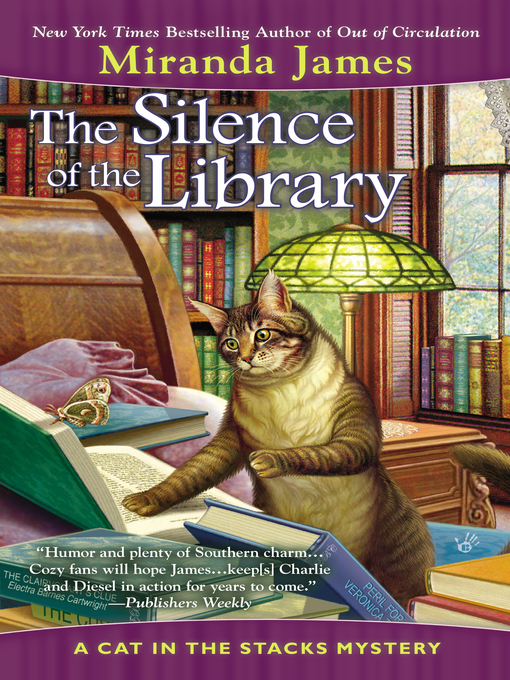 Title details for The Silence of the Library by Miranda James - Available