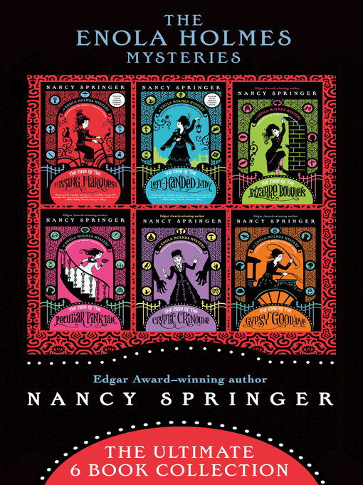 Title details for The Enola Holmes Mysteries by Nancy Springer - Available