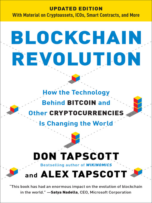Title Details For Blockchain Revolution By Don Tapscott