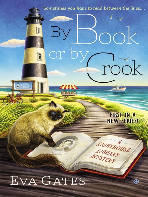 Title details for By Book or by Crook--A Lighthouse Library Mystery by Eva Gates - Wait list