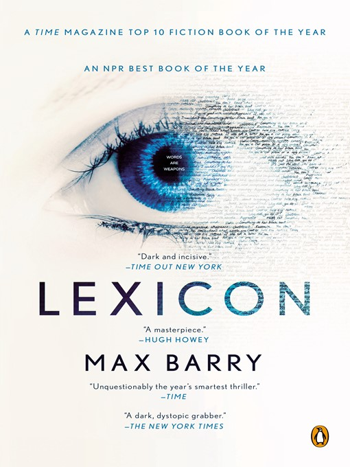 Title details for Lexicon by Max Barry - Wait list