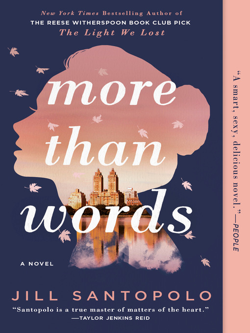 Title details for More Than Words by Jill Santopolo - Wait list