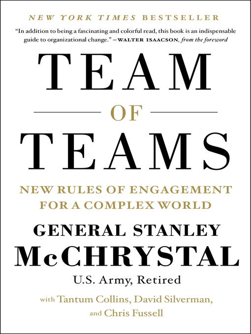 Title details for Team of Teams by Gen. Stanley McChrystal - Available