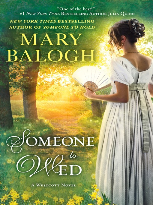 Title details for Someone to Wed by Mary Balogh - Wait list