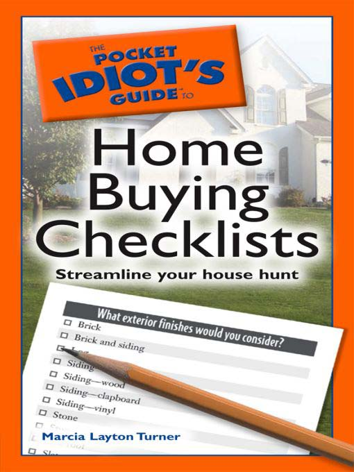 Title details for The Pocket Idiot's Guide to Home Buying Checklists by Marcia Layton Turner - Available