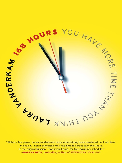 Title details for 168 Hours by Laura Vanderkam - Available