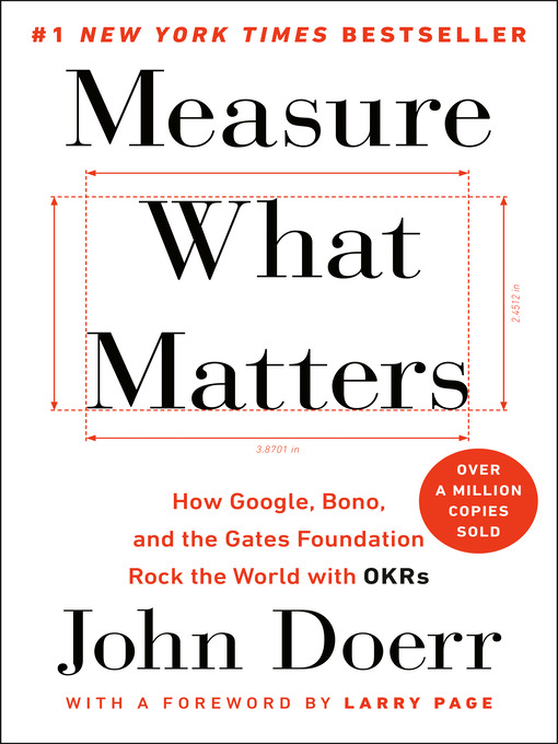 Cover of Measure What Matters