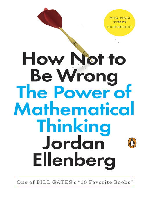 Title details for How Not to Be Wrong by Jordan Ellenberg - Wait list
