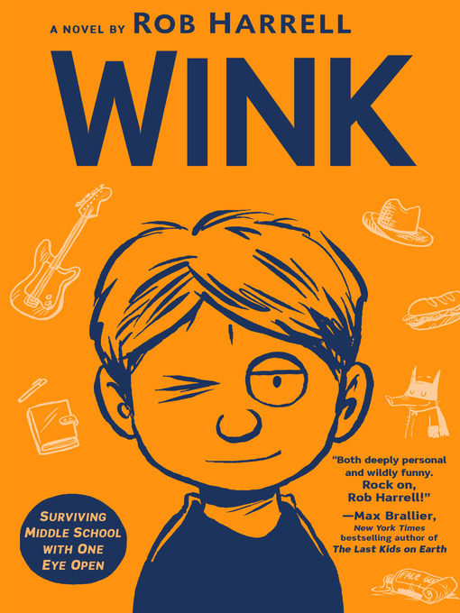 Title details for Wink by Rob Harrell - Wait list