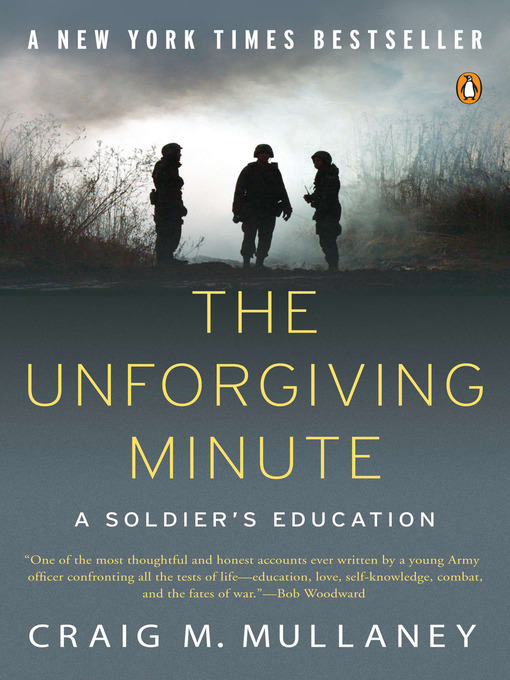 Cover of The Unforgiving Minute