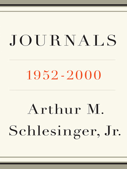 the historian arthur m schlesingers life and the philosophy presented in the work the vital center