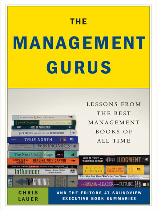 Title details for The Management Gurus by Chris Lauer - Available