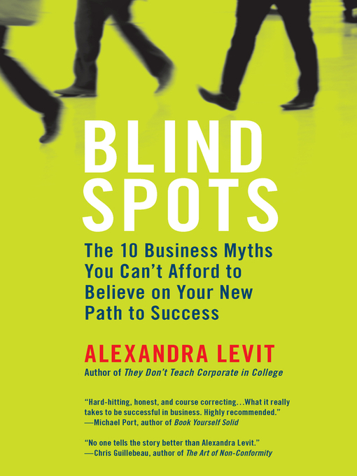 Title details for Blind Spots by Alexandra Levit - Available