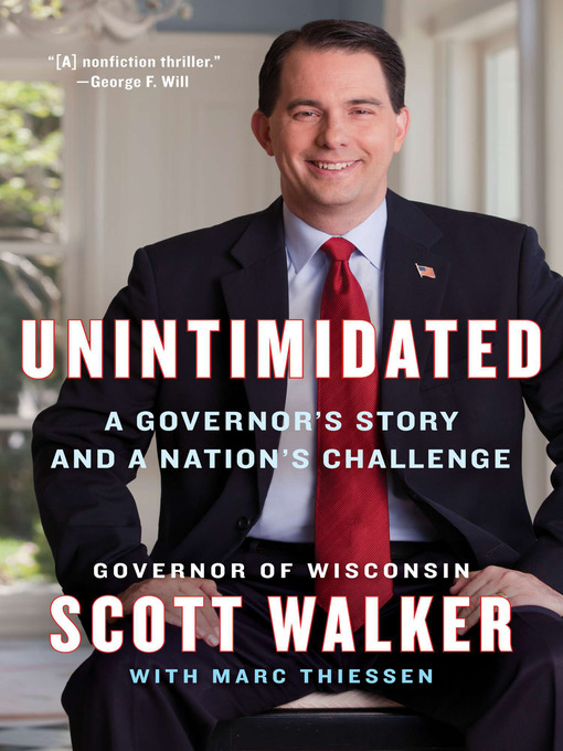 Title details for Unintimidated by Scott Walker - Wait list