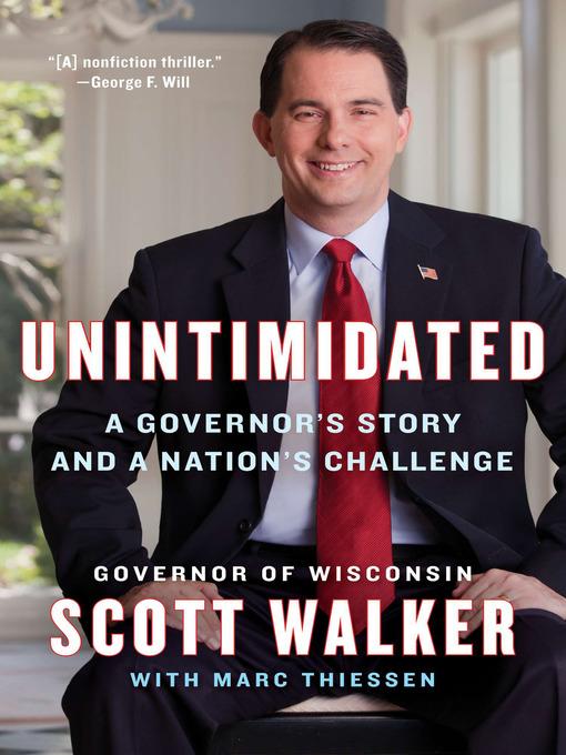Title details for Unintimidated by Scott Walker - Wait list
