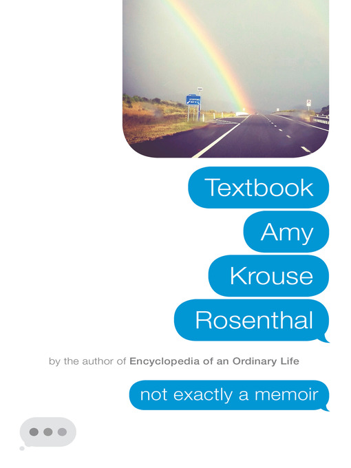 Title details for Textbook Amy Krouse Rosenthal by Amy Krouse Rosenthal - Available