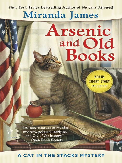 Title details for Arsenic and Old Books by Miranda James - Available