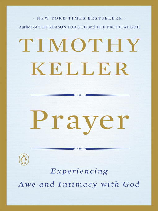 Title details for Prayer by Timothy Keller - Available