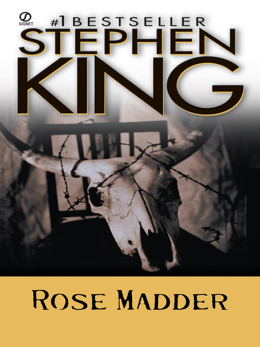 Title details for Rose Madder by Stephen King - Wait list