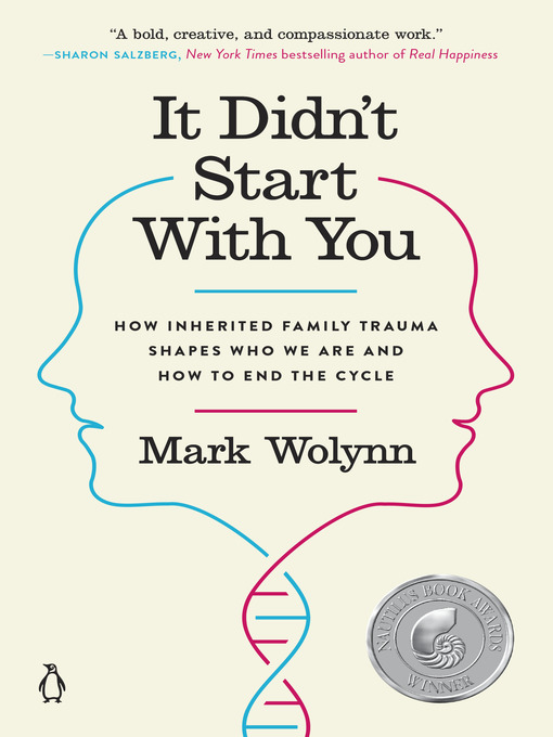 Title details for It Didn't Start with You by Mark Wolynn - Wait list