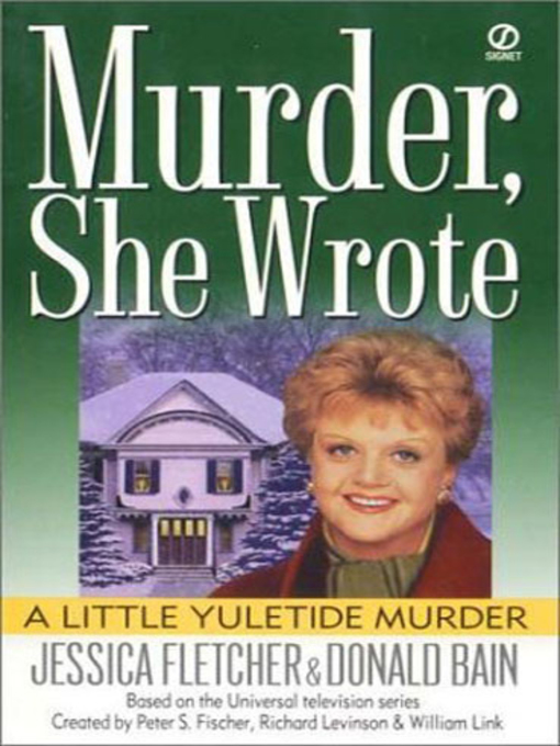 Title details for A Little Yuletide Murder by Jessica Fletcher - Available