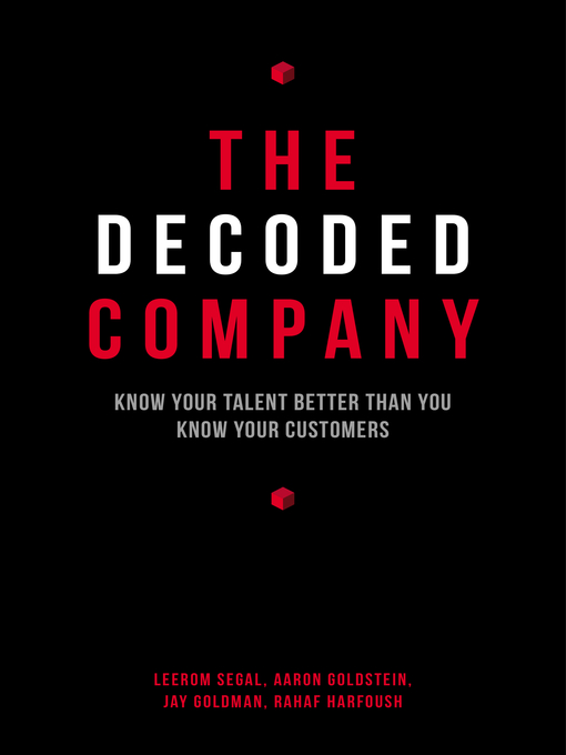Title details for The Decoded Company by Leerom Segal - Wait list