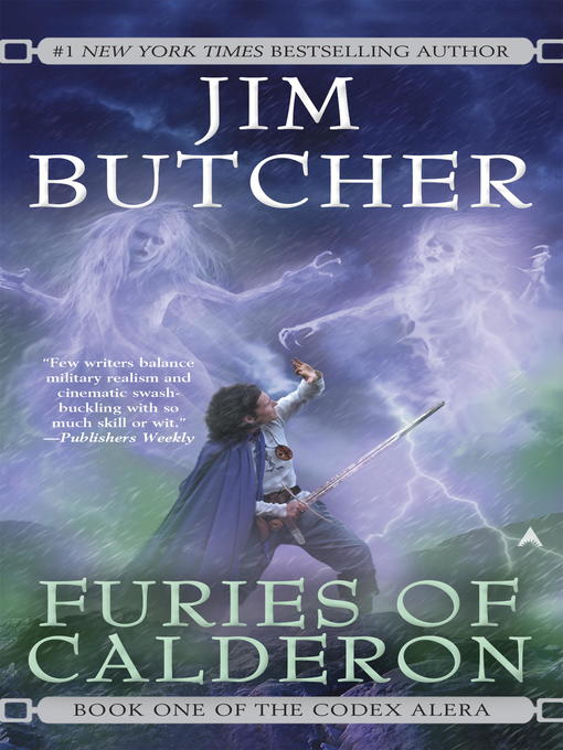 Title details for Furies of Calderon by Jim Butcher - Wait list