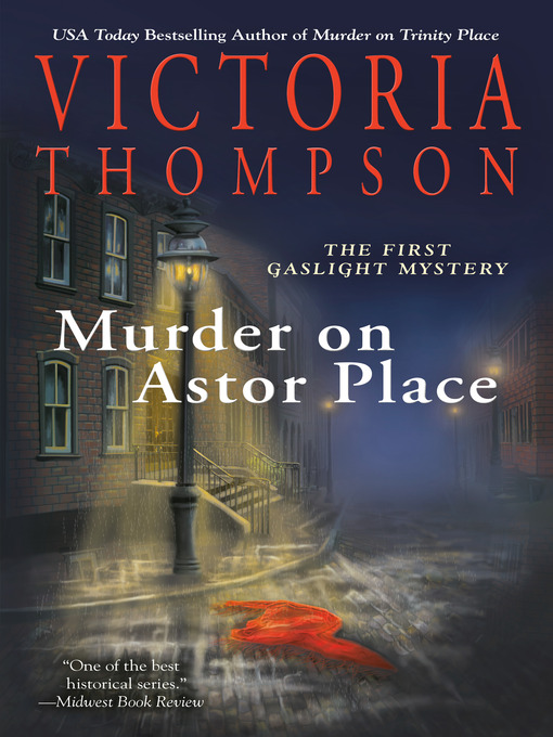 Cover of Murder on Astor Place