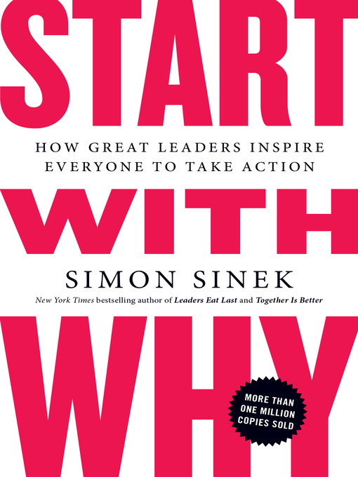 Title details for Start with Why by Simon Sinek - Wait list
