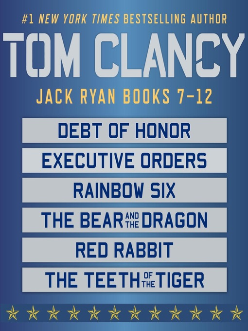 Title details for Jack Ryan, Books 7-12 by Tom Clancy - Wait list