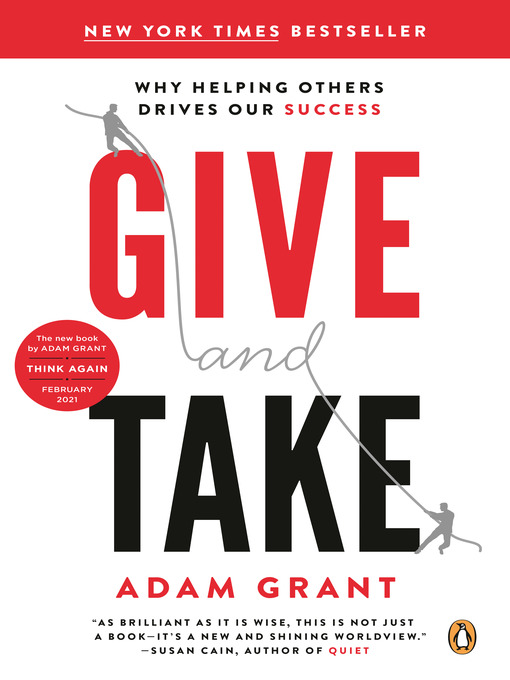 Title details for Give and Take by Adam Grant - Available