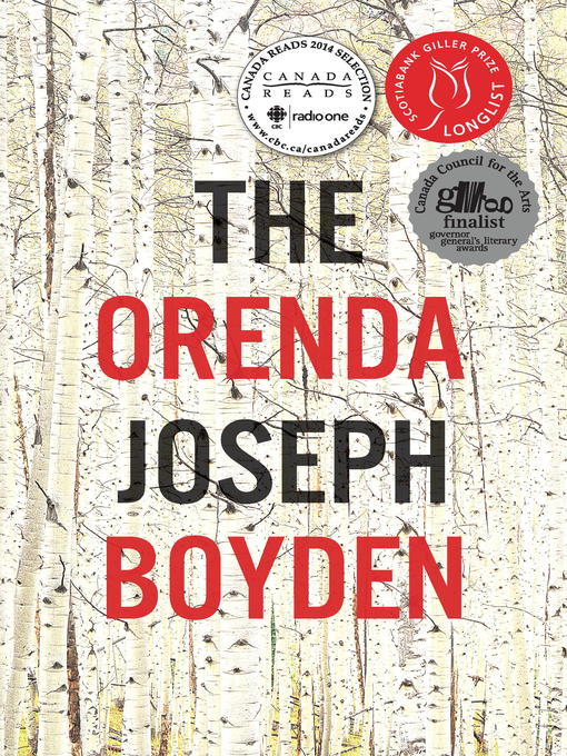 Title details for The Orenda by Joseph Boyden - Wait list